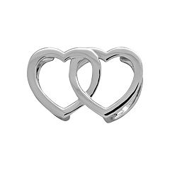 beFITing Double Heart Enhancer Slide for Fitbit® Flex™
