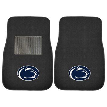 FANMATS Penn State Nittany Lions 2-Piece Car Floor Mat Set