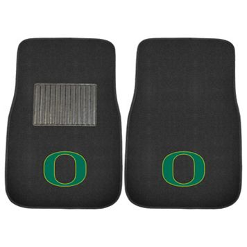 FANMATS Oregon Ducks 2-Piece Car Floor Mat Set