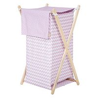 Trend Lab Orchid Bloom Chevron Hamper