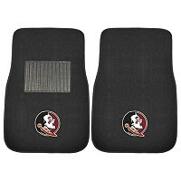 FANMATS Florida State Seminoles 2-Piece Car Floor Mat Set