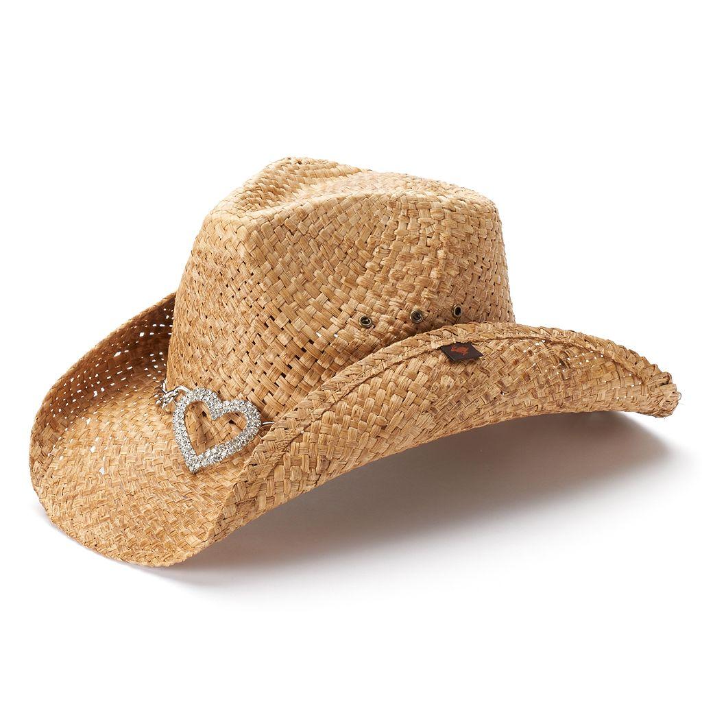 Women's Peter Grimm Straw Cowboy Hat