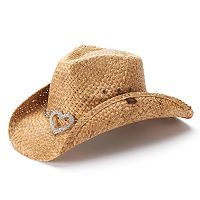 Women's Peter Grimm Straw Cowboy Hat