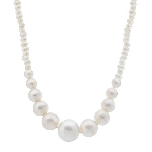 PearLustre by Imperial Freshwater Cultured Pearl Graduated Necklace