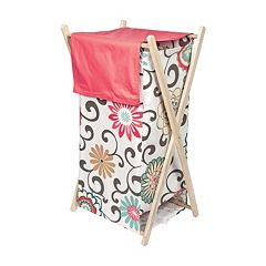 Waverly Baby Pom Pom Floral Hamper by Trend Lab