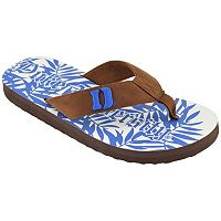 Men's Duke Blue Devils Tropical Flip-Flops
