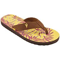 Men's Arizona State Sun Devils Tropical Flip-Flops