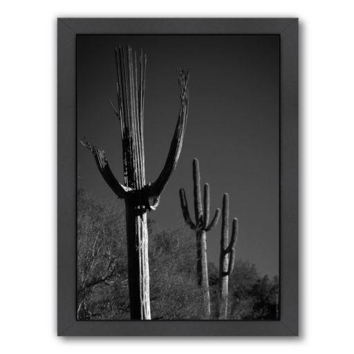 "Americanflat ""Spent Saguaro 11"" Framed Wall Art"