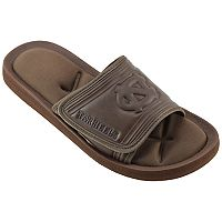 Men's North Carolina Tar Heels Memory Foam Slide Sandals