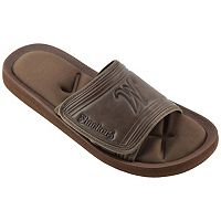 Men's Wichita State Shockers Memory Foam Slide Sandals