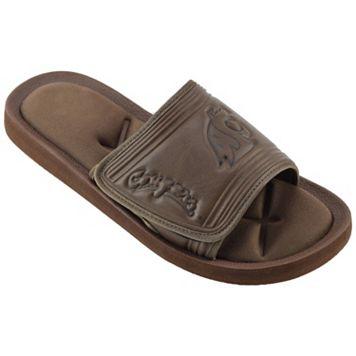 Men's Washington State Cougars Memory Foam Slide Sandals