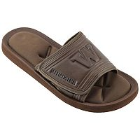 Men's Washington Huskies Memory Foam Slide Sandals