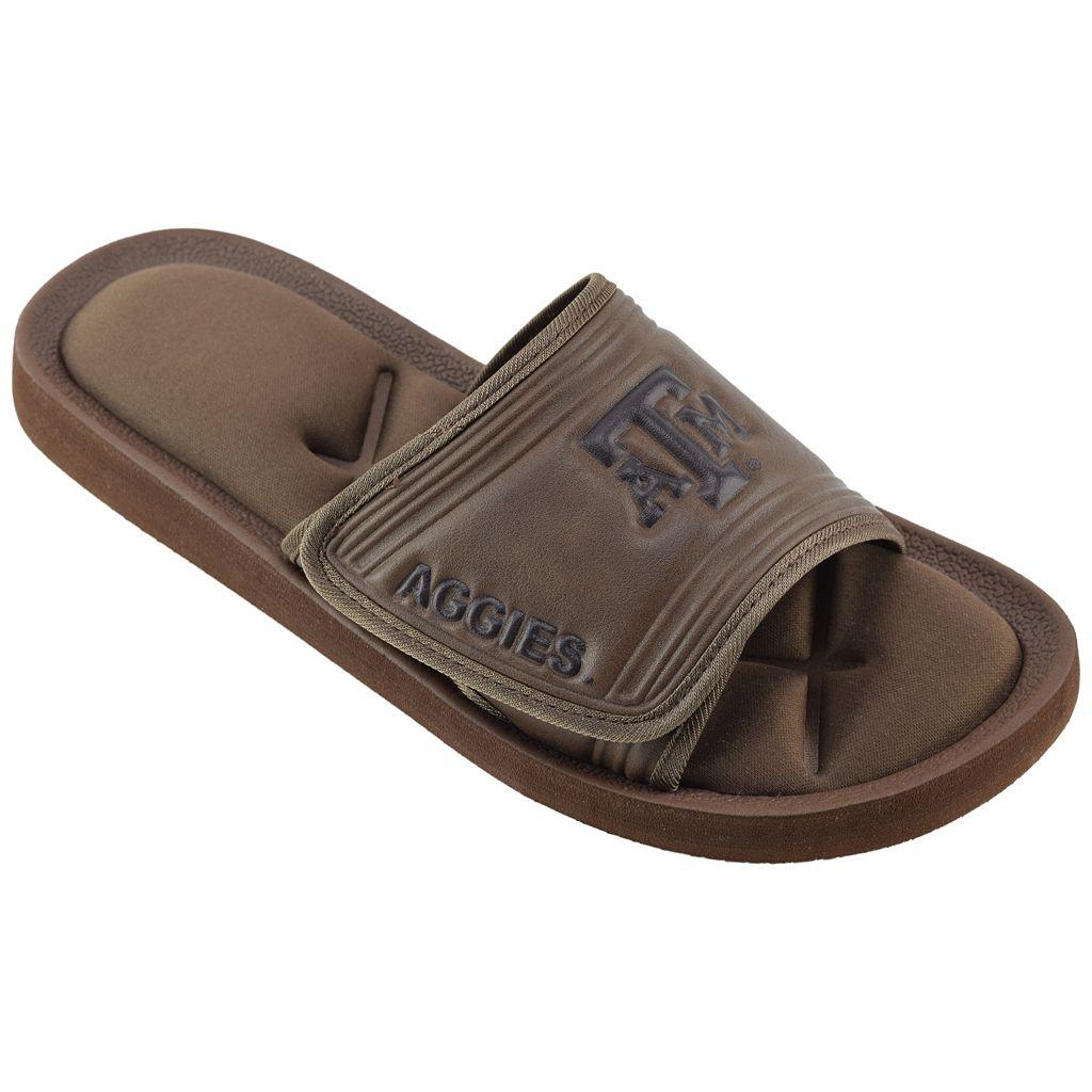 Men's Texas A&M Aggies Memory Foam Slide Sandals