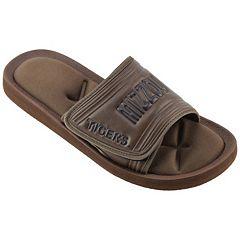 Men's Missouri Tigers Memory Foam Slide Sandals
