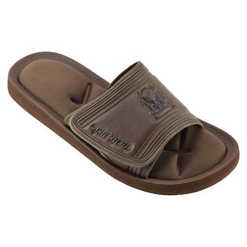 Men's Marshall Thundering Herd Memory Foam Slide Sandals