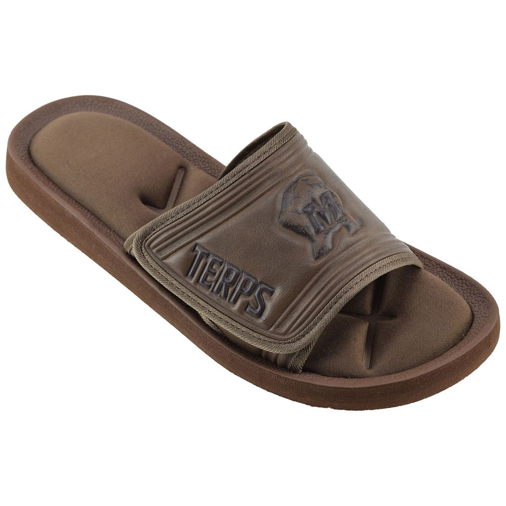 Men's Maryland Terrapins Memory Foam Slide Sandals