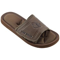 Men's Louisville Cardinals Memory Foam Slide Sandals