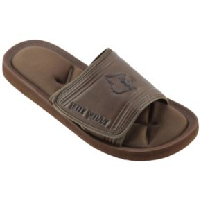 Men's Louisville Cardinals Memory Foam Slide Sandals