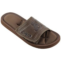 Men's Arizona Wildcats Memory Foam Slide Sandals