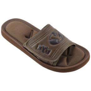Men's BYU Cougars Memory Foam Slide Sandals