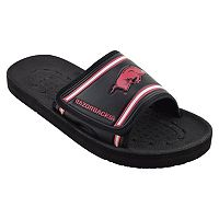 Adult Arkansas Razorbacks Slide Sandals