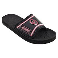 Adult Oklahoma Sooners Slide Sandals