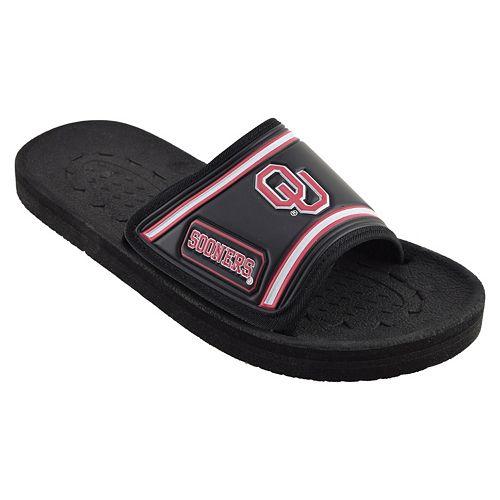 Adult Oklahoma Sooners Slide Sandals