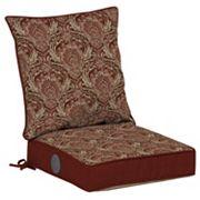 Bombay® Outdoors Venice Damask Adjustable Reversible Chair Cushion 2 pc Set