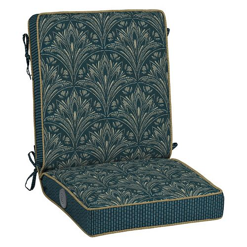 Bombay® Outdoors Royal Zanzibar Medallion Adjustable Reversible Chair Cushion
