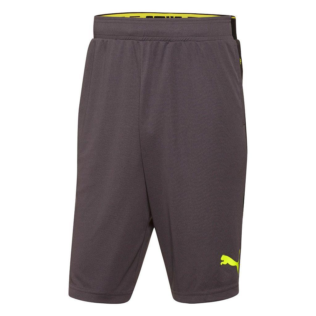 Men's PUMA Tilted Formstriped Shorts