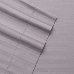 Grand Collection Andiamo Cotton 4-piece 500 Thread Count Stripe Sheet Set