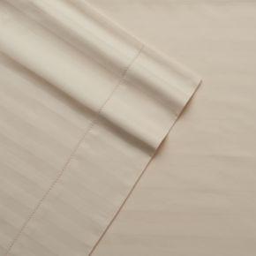 Grand Collection Andiamo Cotton 4-piece 500 Thread Count Stripe Sheet Set