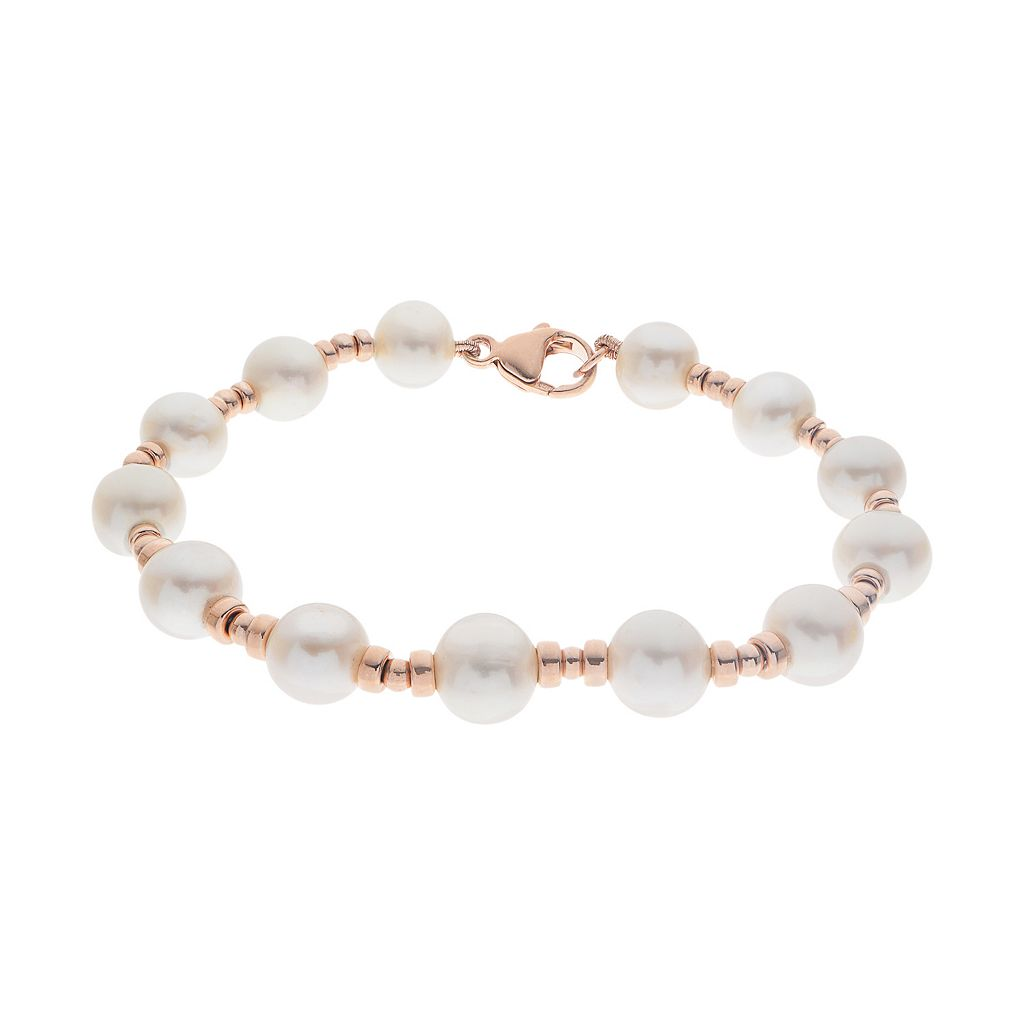 PearLustre by Imperial Freshwater Cultured Pearl Station Bracelet