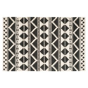 Safavieh Dhurries Tribal Stripe Handwoven Flatweave Wool Rug