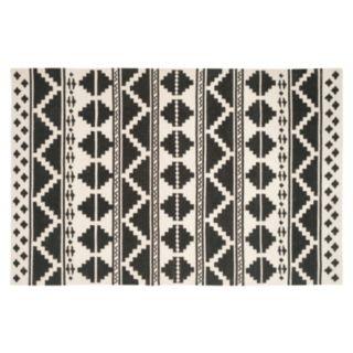 Safavieh Dhurries Tribal Stripe Handwoven Flatweave Wool Rug