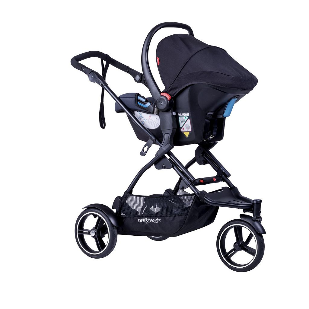 Phil & Teds 2016 Dot Inline Double Stroller