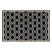 Safavieh Dhurries Star Handwoven Flatweave Wool Rug