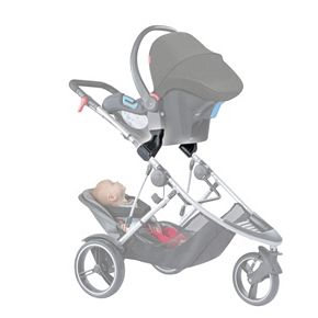 Mountain Buggy / Maxi Cosi / Cybex Car Seat Adapter by Phil & Teds