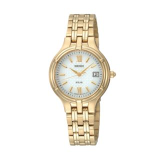 Seiko Women's Core Stainless Steel Solar Watch - SUT220