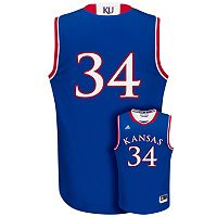 Men's adidas Kansas Jayhawks Replica Basketball Jersey