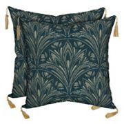 Bombay® Outdoors Royal Zanzibar Medallion Tassels Reversible Throw Pillow 2 pc Set