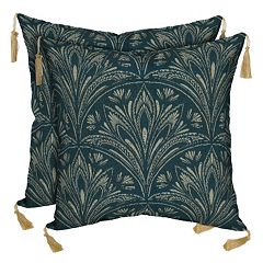 Bombay® Outdoors Royal Zanzibar Medallion Tassels Reversible Throw Pillow 2 pc Set
