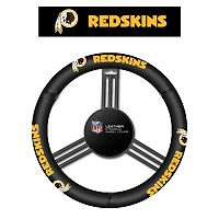 Washington Redskins Leather Steering Wheel Cover