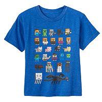 Boys 4-7 Minecraft Character Tee