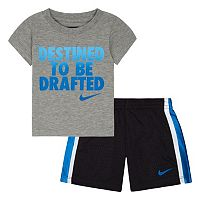 Baby Boy Nike Tee & Shorts Set
