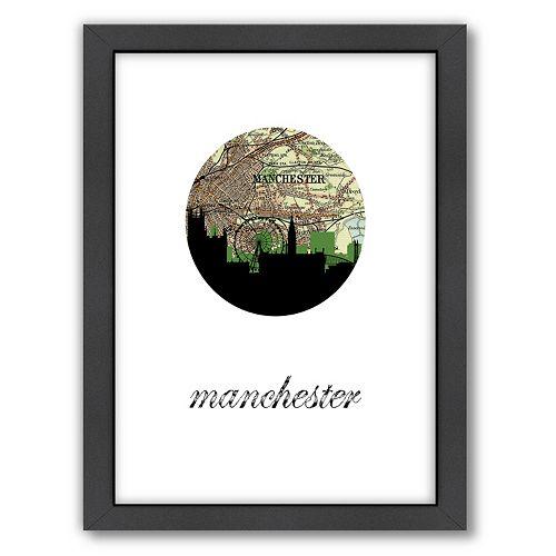 Americanflat PaperFinch Manchester Framed Wall Art