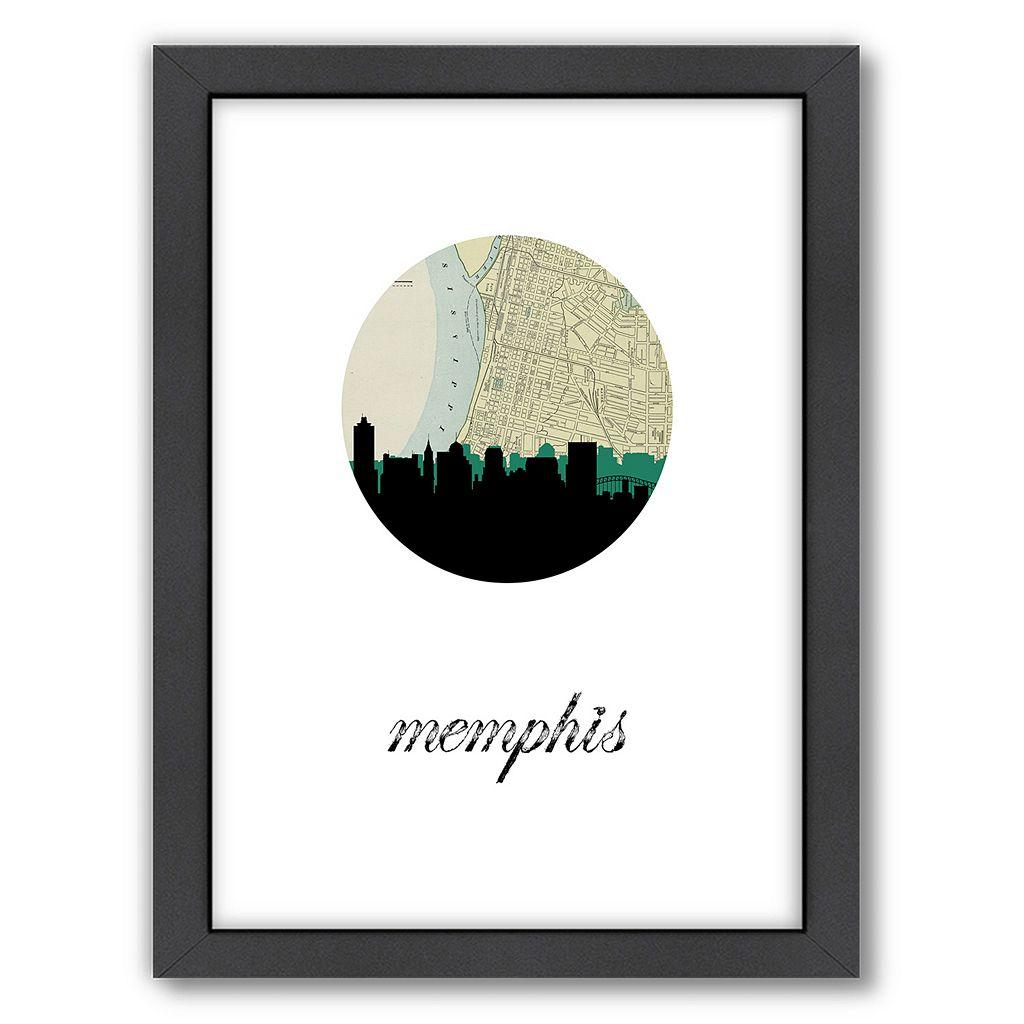 Americanflat PaperFinch Memphis Framed Wall Art