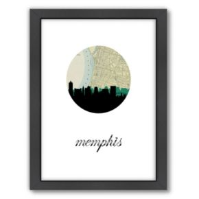 Americanflat PaperFinch Memphis Framed Wall Art