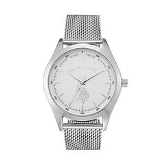 U.S. Polo Assn. Men's Mesh Watch
