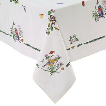 Portmeirion Botanic Garden Birds Tablecloth